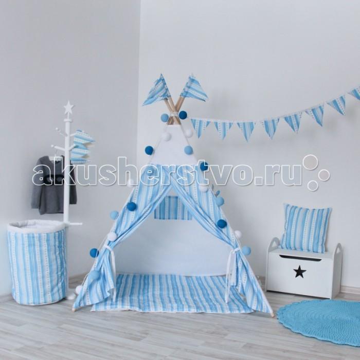Палатки-домики VamVigvam Вигвам Stripes vamvigvam детский ночник pineapple