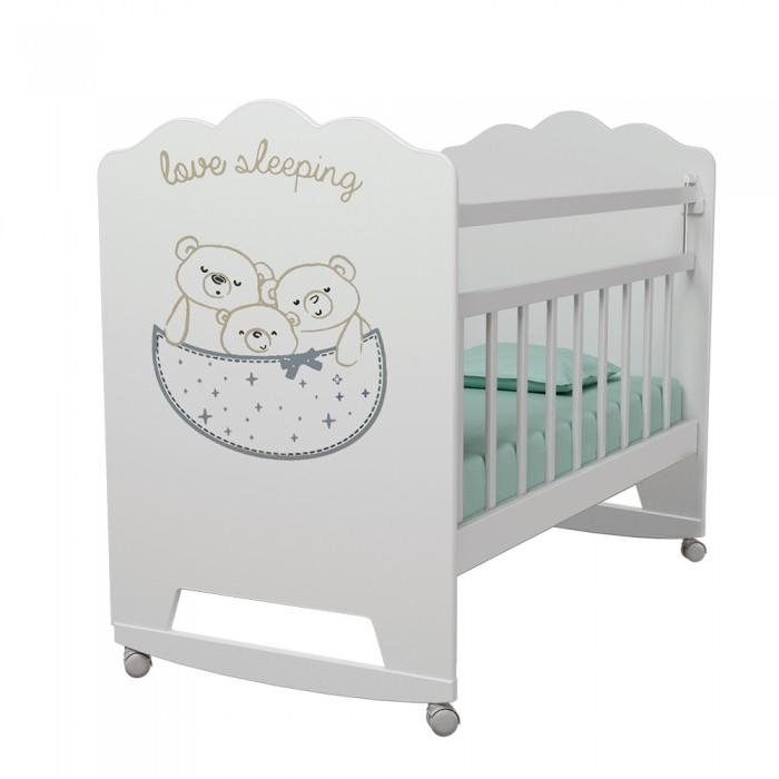 Детские кроватки ВДК Love Sleeping колесо-качалка