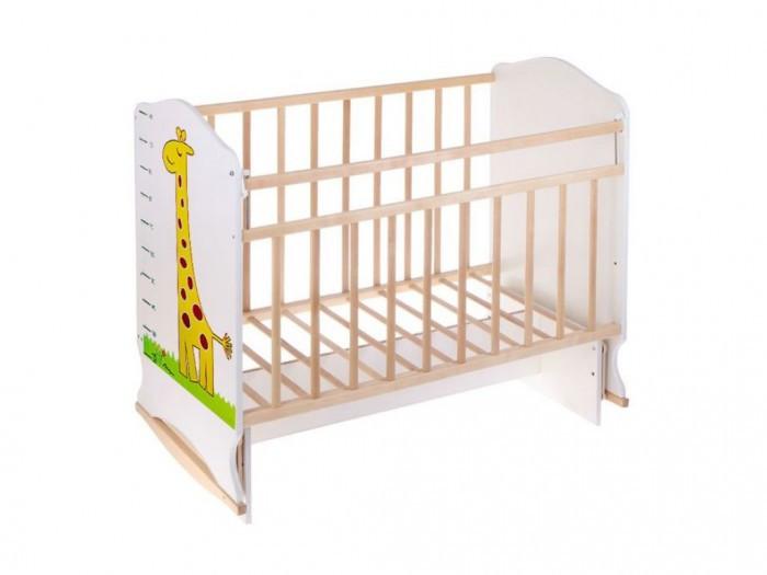 Кроватка на колесиках с маятником