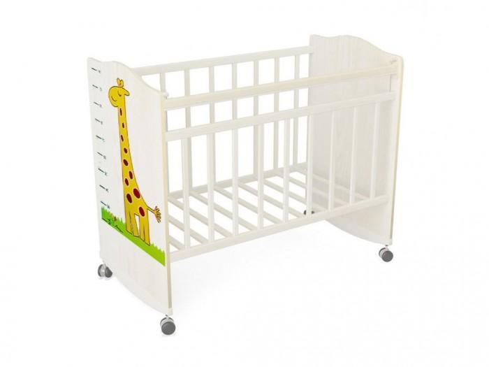 Детская кроватка ВДК Морозко Жираф колесо-качалка
