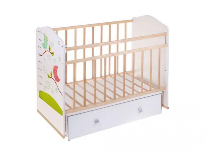 Детские кроватки ВДК Морозко ящик (поперечный маятник) детские кроватки kitelli kito micio поперечный маятник