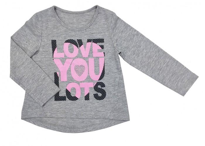 Водолазки и лонгсливы Veddi Фуфайка Love You Lots