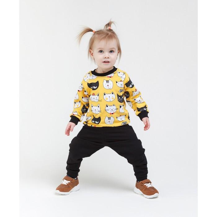 Комплекты детской одежды Veddi Комлект для девочки Кошечка (джемпер и брюки)