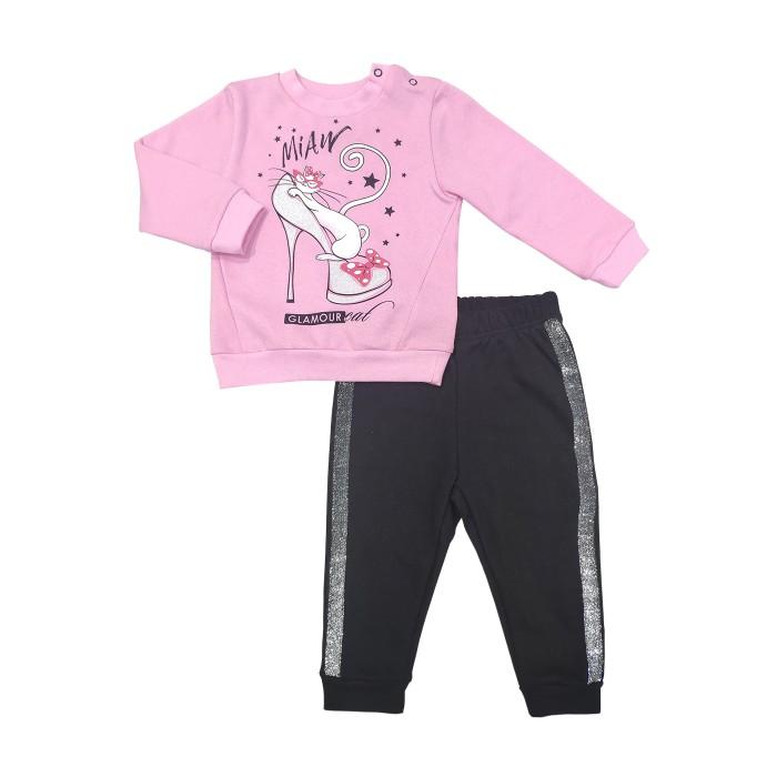 Купить Комплекты детской одежды, Veddi Комплект для девочки (джемпер и брюки) 686/2Ф-20