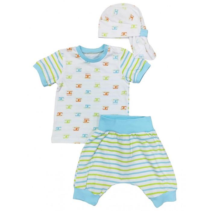 Комплекты детской одежды Veddi Комплект для мальчика (футболка, шорты, бандана)