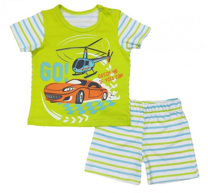 Комплекты детской одежды Veddi Комплект для мальчика (футболка, шорты) Go! комплекты детской одежды elaria комплект для мальчика футболка и шорты bks01 8
