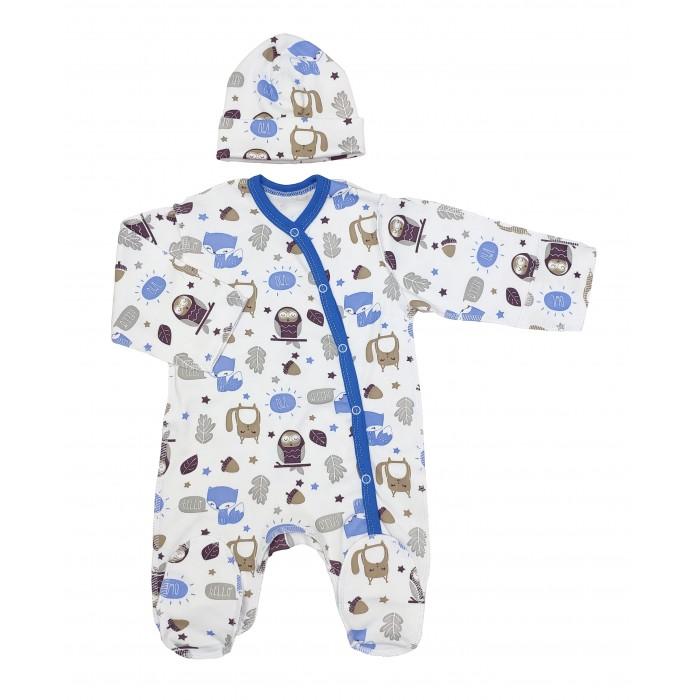 Комплекты детской одежды Veddi Комплект для мальчика (комбинезон, шапочка)