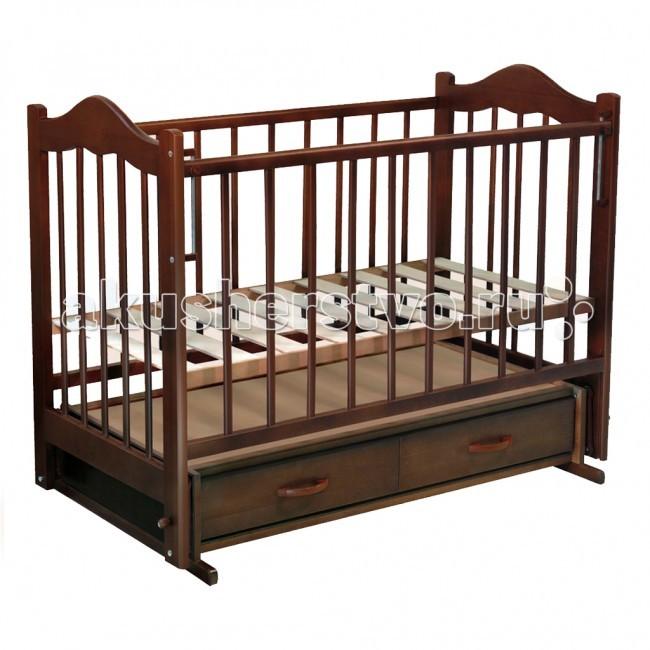 Детская кроватка Ведрусс Кира №4 поперечный маятник