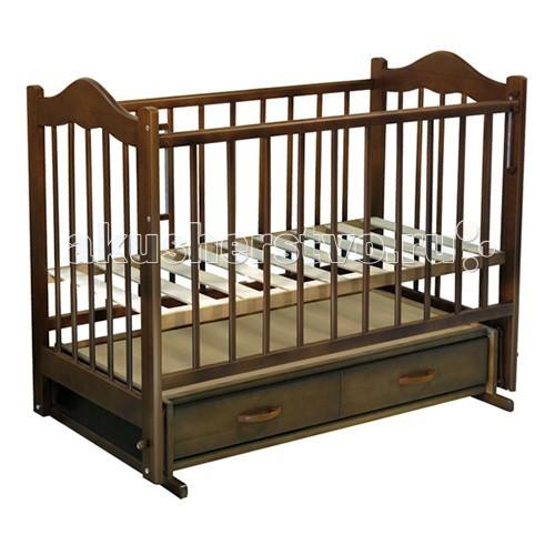 Детские кроватки Ведрусс Кира №4 поперечный маятник детские кроватки ведрусс таисия 2 качалка