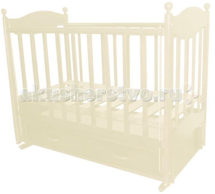 Детская кроватка Ведрусс Эля продольный маятник