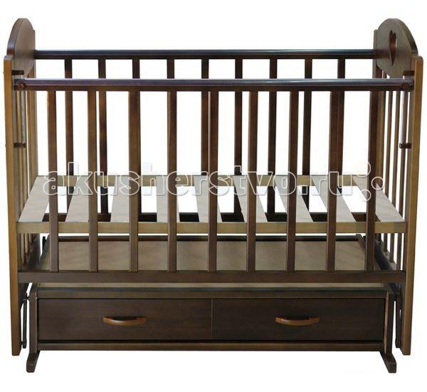 Детские кроватки Ведрусс Иришка №3 поперечный маятник обычная кроватка ведрусс иришка 2 слоновая кость