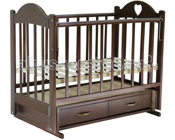 Детская кроватка Ведрусс Иришка №3 поперечный маятник