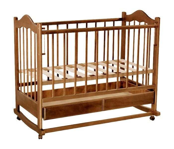 Детская кроватка Ведрусс Кира №1 качалка