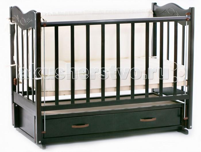 Детская кроватка Ведрусс Милена продольный маятник