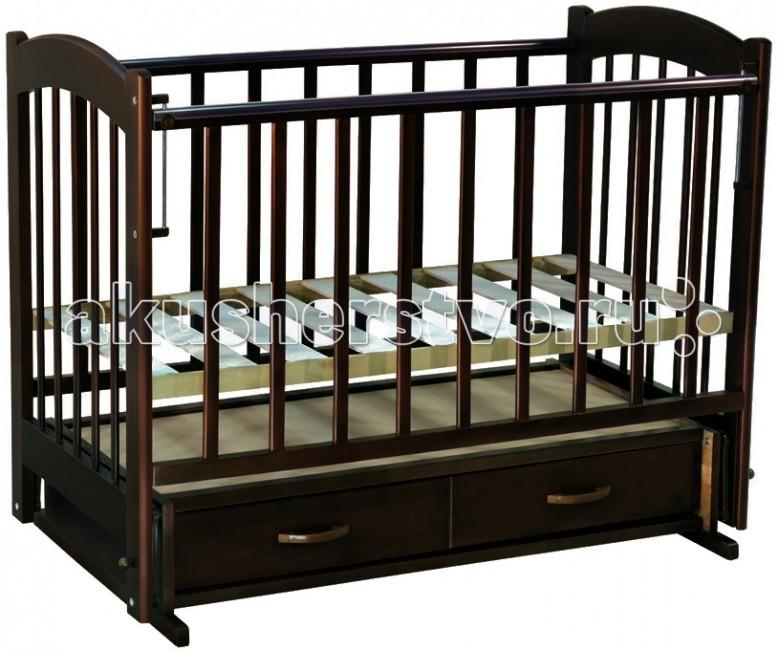 Детские кроватки Ведрусс Радуга №4 маятник поперечный детские кроватки ведрусс таисия 2 качалка