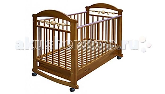 Детские кроватки Велар Карапуз М2 качалка с ящиком детские кроватки valle giraffe 02 колесо качалка