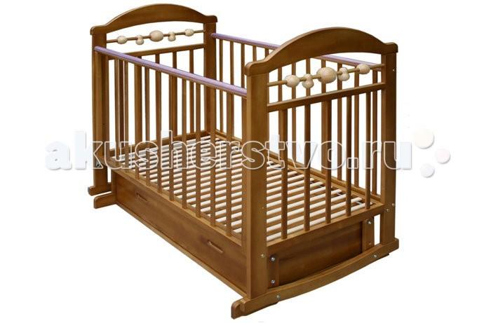 Детская кроватка Велар Карапуз М3 маятник поперечный