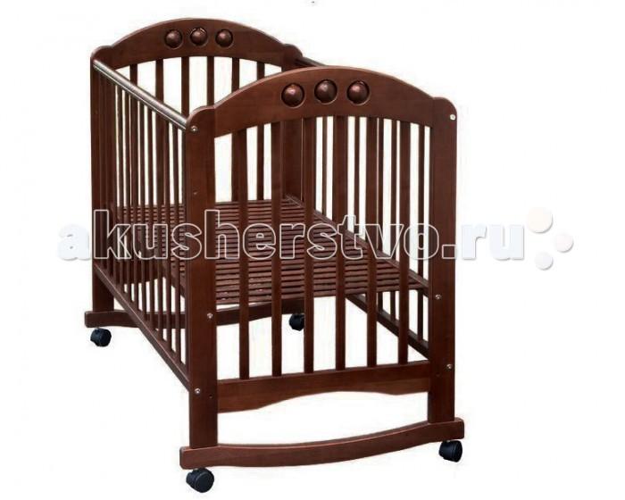 Детская мебель , Детские кроватки Велар Кроха М5 качалка арт: 8719 -  Детские кроватки