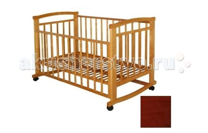 Детская мебель , Детские кроватки Велар Малютка М5 качалка арт: 8715 -  Детские кроватки