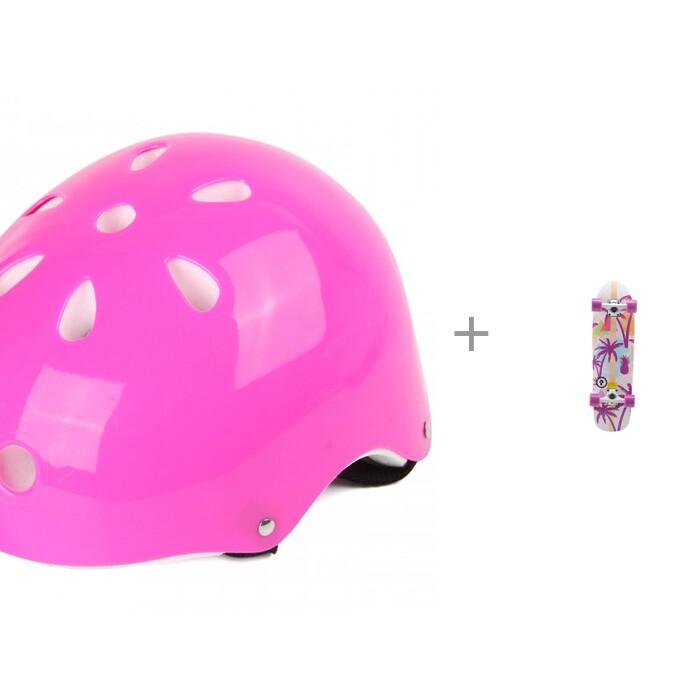 Veld CO Шлем защитный 71928 и скейтборд Круизер Calm Palm Plank