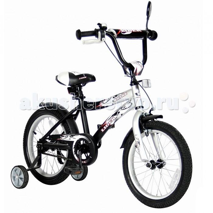 Велосипед двухколесный Velolider Lider Shark 14 14A-1487Lider Shark 14 14A-1487Велосипед двухколесный Velolider Lider Shark 14 14A-1487 отвечает самым высоким стандартам качества.  Особенности: Все модели сделаны эксклюзивно для бренда Velolider и для российского покупателя. Все велосипеды Velolider проходят неоднократную проверку качества в процессе изготовления и заводской сборке, поэтому при соблюдении всех правил эксплуатации и обслуживания, велосипед прослужит Вам длительный срок. Уникальность этого велосипеда в том, что он имеет революционную систему торможения быстрый тормоз.  Разработано во Франции и создан специально для детей, которым теперь не придется тянуться и с трудом нажимать на тугой тормоз.   Удобные резиновые ручки с ограничителем на концах - рука ребенка будет защищена от ударов.  Сиденье заслуживает особого внимания, потому что наши инженеры учли анатомические потребности детей и пожелания их родителей. Сиденье очень широкое и с небольшим бортиком сзади. Эргономика- 10 баллов.  Во всех моделях - подседельные эксцентрики - это полноценные прочные стальные эксцентрики. Для того, чтобы изменить высоту сиденья, инструменты не нужны.  Очень высокие эргономичные рули с высококачественными выносами руля. Передний светоотражатель над рулевой колонкой, задний - под сиденьем.  На спицах переднего и заднего колес - большие светоотражатели. Безопасность- 10 баллов.  Диаметр колес: 14.  Рама: сталь.  Вилка передняя: сталь жесткая. Втулка передняя: SHUNFENG.  Втулка задняя: SHUNFENG Тормоза: передний: ручной клещевой, задний: ножной.  Покрышки: YIDA 14х2,125. Крылья: сталь.  Педали: пластик.  Широкое седло.  Багажник: сталь.  Звонок, зеркало на гибкой ножке.  Подножка: сталь.  Количество скоростей: 1.  Рулевая колонка: сталь.  Шатуны: квадрат, сталь.  Обода: сталь.  Стальная защита цепи.  В комплекте: дополнительные колеса, инструмент для сборки велосипеда. Размеры: 95х80х40 см.<br>