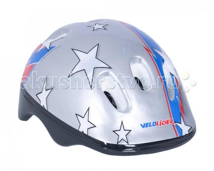 Шлемы и защита Velolider Шлем велосипедный defender easy work black гелевый
