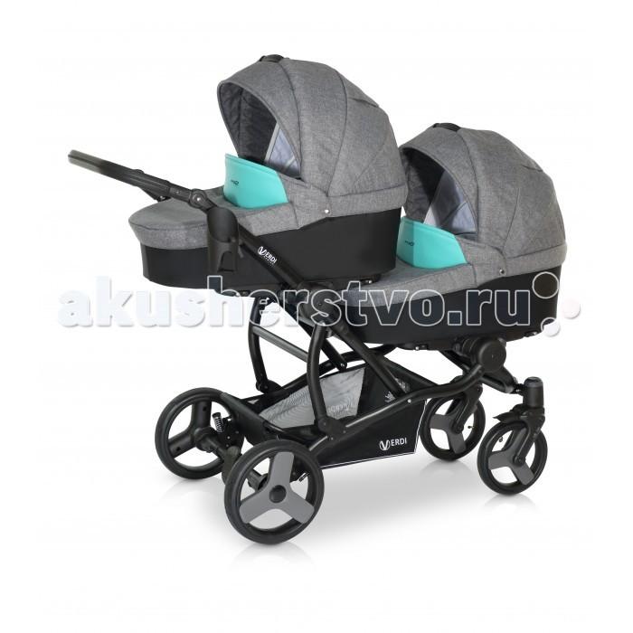 Детские коляски , Коляски для двойни и погодок Verdi Коляска модульная для двойни For 2 арт: 348310 -  Коляски для двойни и погодок