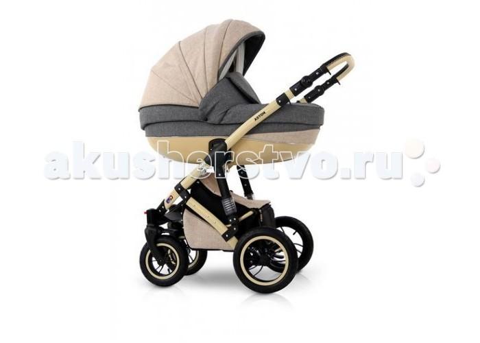 Коляска Verdi Aston 3 в 1Aston 3 в 1Коляска Verdi Aston 3 в 1 – многофункциональная коляска с возможностью установки просторного детского автокресла 0+.  Возможность вкладывания корзины-люльки, прогулочной коляски, а также автокресла для ребенка (элементы можно вкладывать передом и задом к направлению езды) Регулируемая высота ручки Ручка обшита экологической кожей. Большая корзинка для покупок Пленка для защиты от дождя, москитная сетка Сумка Держатель для бутылки Матрасик для перематывания Конструкция коляски выполнена из алюминия Большие накачиваемые колеса Передние самоустановочные колеса с возможностью блокировки для движения в прямом направлении Дополнительный износ Легкий механизм складывания и раскладывания коляски  Версия с корзинкой: Внешняя регулировка поддержки Складываемая корзинка Кокосовый матрасик Корзинки и матрасик изготовлены из экологической бамбуковой ткани Вентиляционное окошко со встроенной москитной сеткой Чехол. Матрасик. Занавес. Муфты.  Прогулочная версия: Pегулировка поддержки, вплоть до лежащей позиции Дополнительный матрасик 3- ступенчатая регулировка подножки Расстегиваемая задняя часть будки - климатизированная версия (с идеальной вентиляцией и тепловым комфортом) Плавная регулировка подножки Пластиковые подставки для ног Практическая подножка для ребенка Многоступенчатая регулировка козырька Выставляемая, регулируемая защитная перегородка 5- точечные ремни безопасности с возможностью регулировки Возможность установки сидения спереди и сзади по направлению езды  Кресло grupa 0+ 0-10 кг Имеет европейское удостоверение процесса ECE R44/04 Устанавливается на коляске при помощи адаптера 3- точечные ремни безопасности Регулируемая ручка для переноски кресла Отстегиваемый козырек Чехол для ножек Дополнительная вкладка для новорожденного Регулируемая высота ремней безопасности Возможность снятия обивки<br>