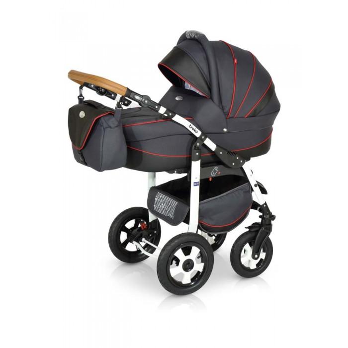 Коляска Verdi Broko 3 в 1Broko 3 в 1Коляска Verdi Broko 3 в 1 – многофункциональная коляска с возможностью установки просторного детского автокресла 0+.  Особенности: Люлька для младенца просторная и удобная Внутренние мягкие, натуральные ткани Внутреннее пространство люльки- вентилируемое Регулируемый наклон спинки; Бесшумно складывающийся капюшон с дополнительным козырьком от дождя и ветра, карманом и смотровым окошком Люльку можно использовать как колыбельку для укачивания малыша Специальные ткани верхнего защитного покрытия прекрасно защищают в плохую погоду, легко чистится Нижняя часть капора отстегивается позволяя малышу дышать свежим воздухом, а вставка из москитной сетки защитит от насекомых На капоре есть солнцезащитный козырек, который увеличивается, благодаря спрятанной силиконовой вставке На капоре имеется удобная ручка для переноски люльки Прогулочный блок: Регулируемая спинка прогулочного блока Окошко в капоре, прикрытое сеточкой (прекрасно пригодится в жаркий летний день) Верхнее покрытие коляски не пропускает влагу, легко очищается Регулируемая подножка Съемный защитный бампер для рук ребенка Накидка на ножки с высоким бортом Пятиточечные ремни безопасности Удобная ручка для переноски Шасси: Легкая алюминиевая рама Колеса надувные Передние колеса коляски легко вращаются на 360° Регулируемая по высоте ручка Вместительная багажная корзина Автокресло: люлька-переноска, группа 0+ (0-13 кг) тканевая люлька с жестким дном   удобная ручка для переноски, расположенная  на капюшоне  бесшумный механизм регулировки капюшона  внутренняя вкладка выполнена из 100% хлопка, легко снимается для стирки;  матрасик для новорожденного возможность установки люльки в 2 положениях (лицом к маме, или лицом по направлению движения коляски)<br>