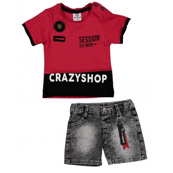 Комплекты детской одежды Verscon Комплект для мальчика Футболка и шорты V4779 комплекты детской одежды elaria комплект для мальчика футболка и шорты bks01 8