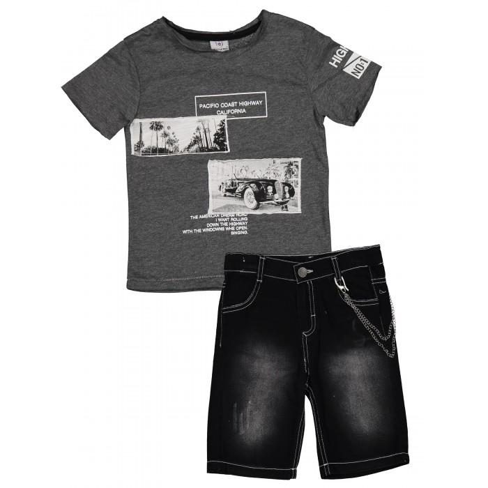 Комплекты детской одежды Verscon Комплект для мальчика Футболка и шорты V4793 комплекты детской одежды elaria комплект для мальчика футболка и шорты bks01 8