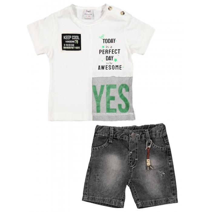 Картинка для Verscon Комплект для мальчика Футболка и шорты
