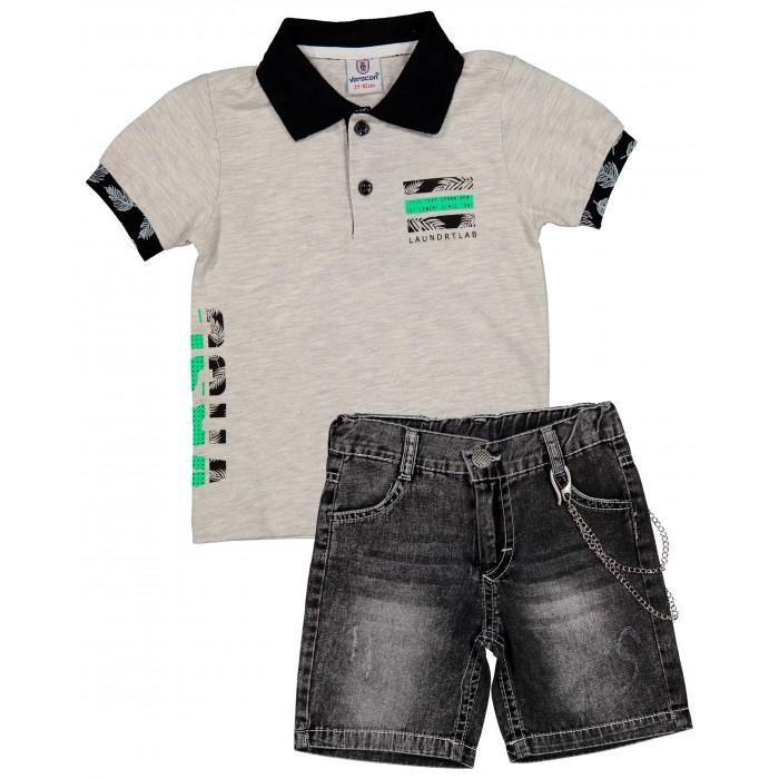 Картинка для Verscon Комплект для мальчика Футболка поло и шорты