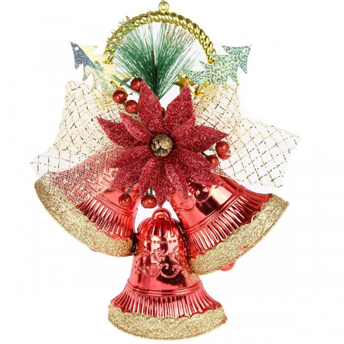 Новогодние украшения Веселый хоровод Новогоднее украшение Колокольчики 19х25 см