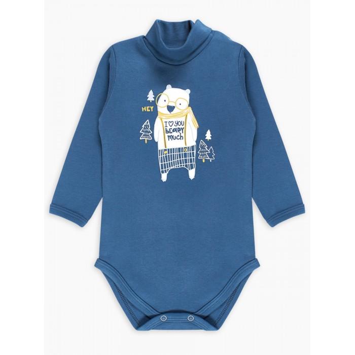 Картинка для Веселый малыш Боди-водолазка Kuma 48322/ku