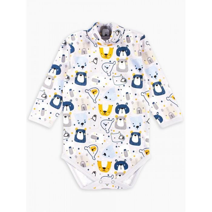 Картинка для Веселый малыш Боди-водолазка Kuma