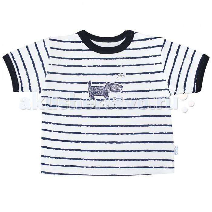 Футболки и топы Веселый малыш Футболка для мальчика Верные друзья футболки и топы веселый малыш футболка лягушонок