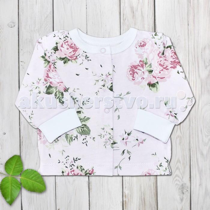 Распашонки и кофточки Веселый малыш Кофточка для девочки Нежная роза веселый малыш футболка для девочки веселый малыш