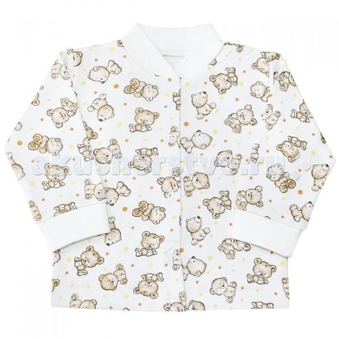 Распашонки и кофточки Веселый малыш Кофточка Мишутка детская одежда