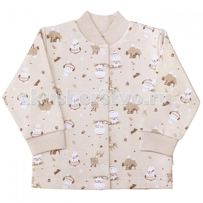 Распашонки и кофточки Веселый малыш Кофточка Олени 22142 детская одежда