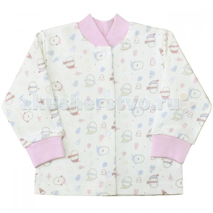 Распашонки и кофточки Веселый малыш Кофточка Пингвины 22142 детская одежда