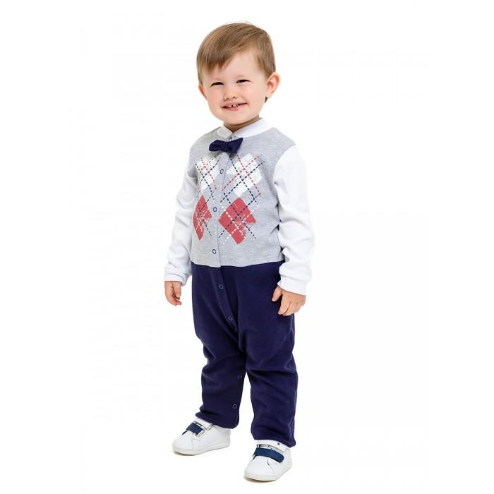 Боди, песочники, комбинезоны Веселый малыш Комбинезон детский Маленький джентельмен 357/322