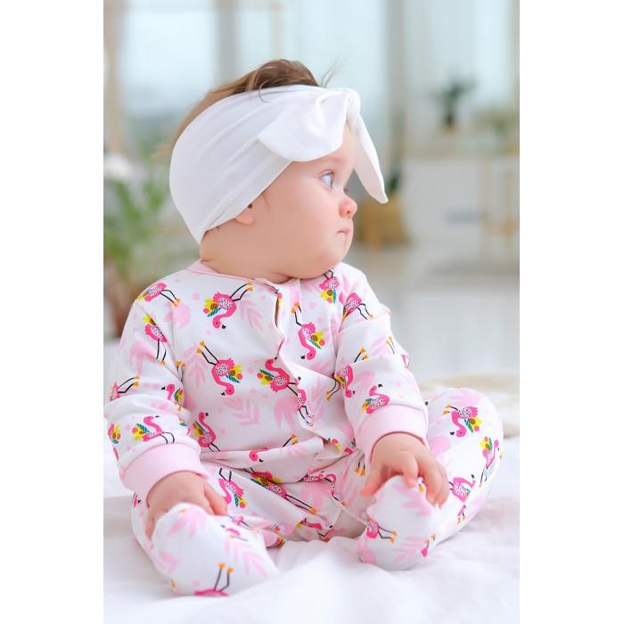 Боди, песочники, комбинезоны Веселый малыш Комбинезон Малыш фламинго