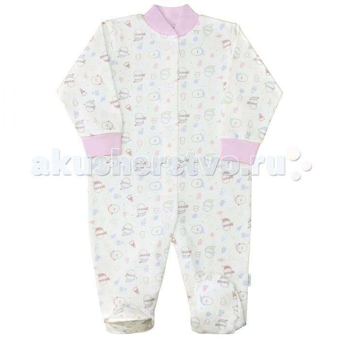 Комбинезоны и полукомбинезоны Веселый малыш Комбинезон Пингвины 51142 детская одежда