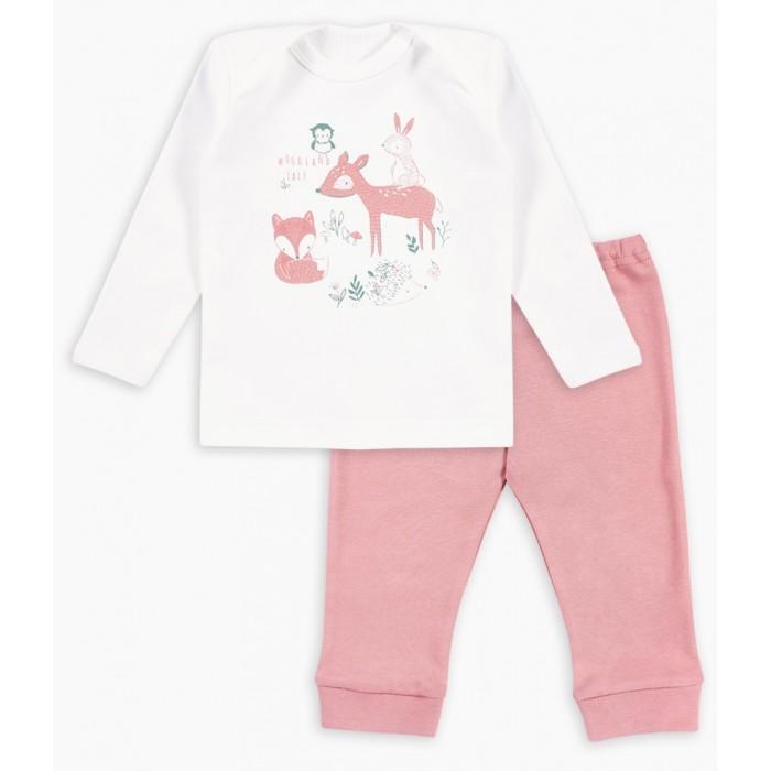 Комплекты детской одежды Веселый малыш Комплект для девочки (фуфайка, штанишки) Wooly Wool