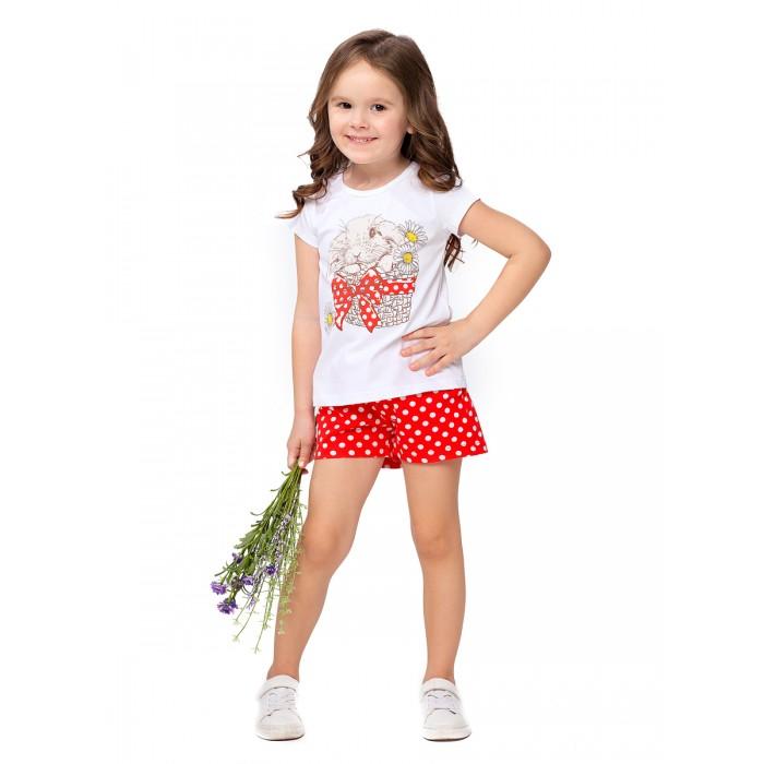 Картинка для Веселый малыш Комплект для девочки (футболка, шорты) Лея