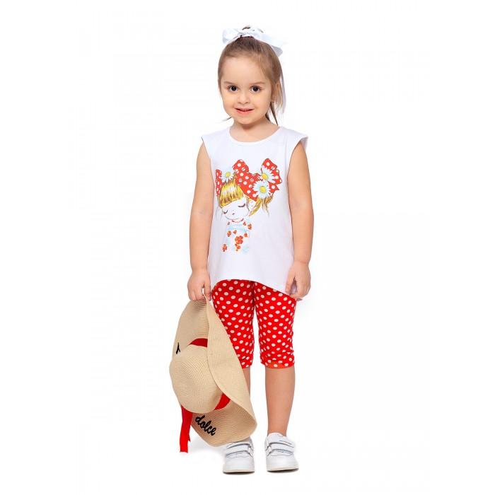 Картинка для Веселый малыш Комплект для девочки (туника, бриджи) Лея