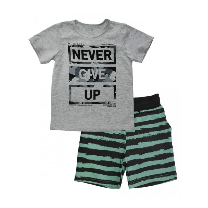 Веселый малыш Комплект для мальчика футболка и шорты Защитник от Веселый малыш