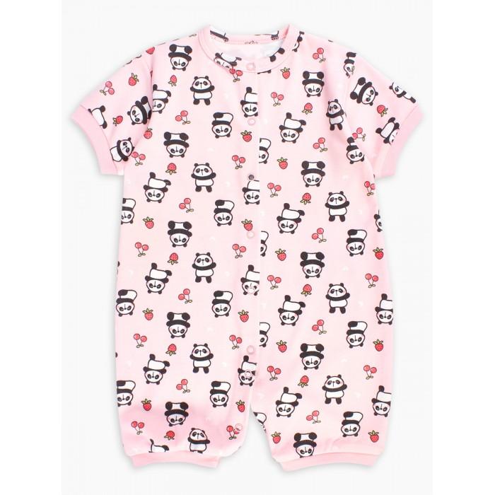 Купить Боди, песочники, комбинезоны, Веселый малыш Песочник детский Фруктовая панда Cozy Dream 52322