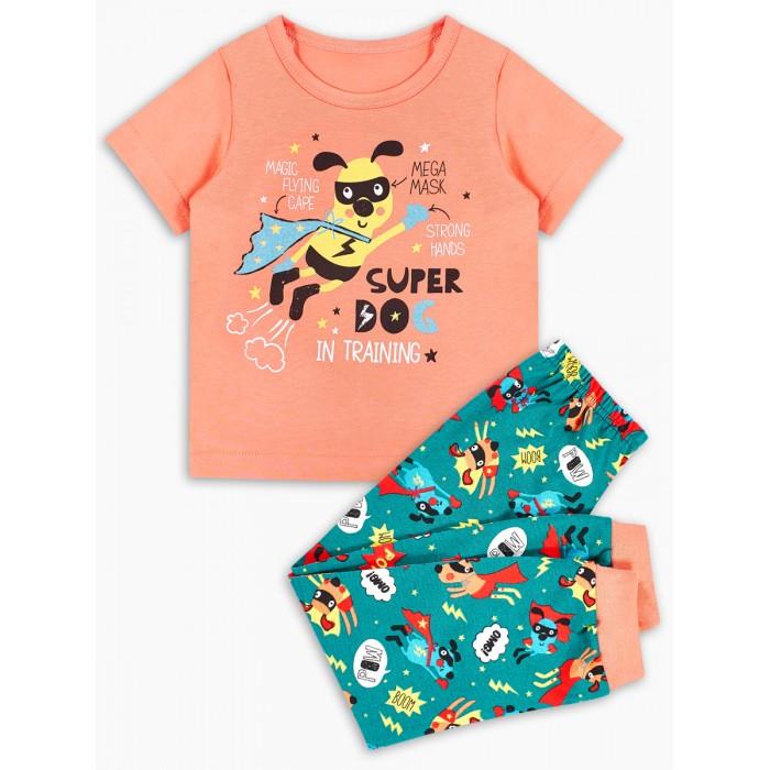 Домашняя одежда Веселый малыш Пижама детская Супер-Гав 299170